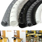 1m 10/25mm Cable Spiral Wrap Tidy Cord Wire Banding Loom Storage Organizer Tool