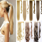 Wrap Around Ponytail Piece Clip in on Pony Tail Hair Extensions Human Made FF7
