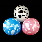 10pcs cow printed round latex balloons party decor kids toys party supplies