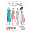 McCall's 6102 Sewing Pattern to MAKE Easy Pullover Summer Dresses Special Price