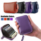 USA Women Wallet Leather Zip Coin Purse Clutch Handbag Small Mini Card Holder image