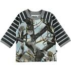 BNWT Baby Boys Molo Elton Squirrels Long Sleeved T-shirt NEW Cotton T-Shirt