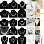 81 Kinds Fashion Womens Bib Crystal Pendant Chain Collar Statement Necklace