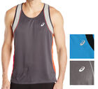 Asics NEW Two Tone Mens Performance Muscle Active Tank Top T