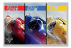Cars 3 Split Poster Magnetic Notice Board Inc Magnets
