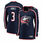 Seth Jones Columbus Blue Jackets Fanatics Branded Womens Breakaway Jersey