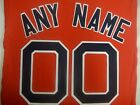 8530 BOSTON RED SOX Number KIT Alternate RED JERSEY ANY NAME OR NUMBER