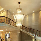 Modern Fashion K9 Crystal Chandelier Villa Stairs Hotel Lighting Fixture # 8736
