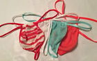 Men's G String Thong SWEATER Knit SLIDER Cozy Adjustable Intimates 4 NEW COLORS