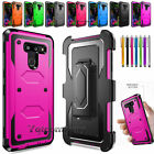 For LG G3 Hybrid Impact Rugged Shockproof Rubber Hard Protective Case Cover Skin