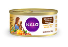 Halo Grain Free Indoor Cat Turkey & Duck Pate Canned Cat Foo