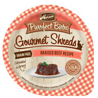 Merrick Purrfect Bistro Gourmet Shreds Grain Free Braised Beef Recipe Cat Food T
