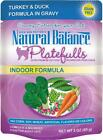 Natural Balance Platefulls Indoor Turkey & Duck Formula in G