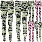 Womens Skinny Fit Denim Camouflage Skinny Jeans Ladies Stretch Leggings Jeggings