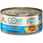 Wellness CORE Grain Free Natural Whitefish, Salmon & Herring Smooth Pate Canned