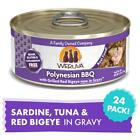 Weruva Polynesian BBQ With Grilled Red Big Eye in Gravy Canned Cat Food