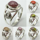 Many Stones, Many Sizes ! 925 Silver RUBY & Other Gem Ring Friendship Day Sale