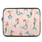 Zipper Sleeve Bag Cover - Mermaid Wish - Fits Most Laptops + MacBooks