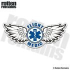 Flight Medic Decal Star of Life Paramedic EMS Helicopter Gloss Sticker HVG