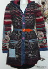 IVKO Geelong Wolle Mantel Coat Jacket jeans new eclecticism anthracite 42702