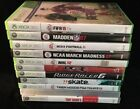 LOT OF XBOX 360 SPORTS GAMES!! *RACING* FOOTBALL* SOCCER*BASKETBALL*MINT*