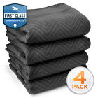 "Moving Blanket Furniture Pad - Ultra Thick Pro - 80"" x 72"" Black"