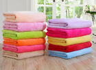 SOLID VERSATILE SUPER SOFT WARM SMALL THROW BLANKET MICROPLUSH MULTIPURPUSE LOT image