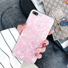 For iPhone X 7 8 Plus Case Bling Cute Glitter Sparkle Shell Pattern Phone Covers