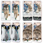 HEAD CASE DESIGNS WILDLIFE SKY BLUE GLITTER CASE FOR APPLE iPHONE SAMSUNG PHONES
