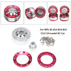 Upgrade Metal Wheel Frame Spare Parts Set For WPL B1 B14 B16 B24 C14 C24 RC Car
