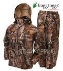 FROGG TOGGS RAIN GEAR-AS1310-54 ALL SPORTS AP XTRA CAMO SUIT WET HUNTING FISHING