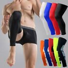 Crossfit Breathable Compression Sleeve Knee High Patella Support Thigh Stockings