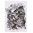 New 1 Removable Cool Skull Beauty Waterproof Arm Body Temporary Tattoo Stickers