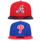 New Era 59FIFTY Phillies Atlanta Braves Diamond Reverse Fitted Baseball Cap on Ebay