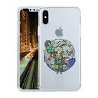 Hybrid Silicone Gel TPU Anime Naruto Phone Case Cover For iPhone X 5/6s/7/8 Plus