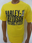 nwt Mens HARLEY DAVIDSON *HD #1*  Bright Yellow Tee Shirt $26.99 USD on eBay