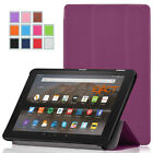 Exact Amazon Kindle Fire 7 2015 [SLENDER] Slim Smart-Shell Trifold Stand Case