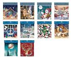 Ling Square Advent Calendars 230 x 230 mm religious & traditional white envelope