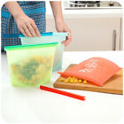 Reusable Silicone Vacuum Food Bags Wrappers Rfrigerator Storage Food Containers
