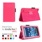 For Amazon Fire HD 8 - Leather Case Smart Stand Cover Protection