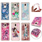 Dynamic Liquid Glitter Bling Quicksand ShockProof Case Cover for Huawei Honor 9i