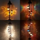 3 5 7 9 Ball Turkish Moroccan Colourful Glass Mosaic Floor Lamp Light ✔ UK SAFE £225.0 GBP on eBay