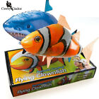2018 TOYInflatable Balloon Air Swimmer Remote Control RC Flying Nemo Shark Blimp
