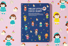 2019 Hello Little CoCo MINI Diary Scheduler Planner Notebook Cute Journal Book