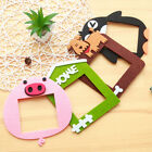 Creative Felt Animal Pattern Switch Stickers Removable Wall Stickers Home Decor