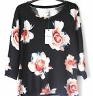 Ladies Precis Petite Fine Knit Jumper Womens Floral Rose Print Top UK XS-L New
