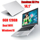64GB/128GB/256GB Laptop Intel Notebook Windows 10 PC 14''/15.6'' Gaming Laptop