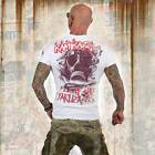 Neues Yakuza Herren Flight No893 T-Shirt - Weiß