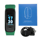C1 PLUS bluetooth Smart Band Blood Pressure&Heart Rate Monitor Wristband Fitness