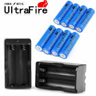 Ultrafire 18650 Battery 3000mAh Li-ion 3.7V Rechargeable Batteries Cell Charger